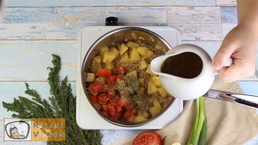 Pulykaragu recept, pulykaragu elkészítése 3. lépés