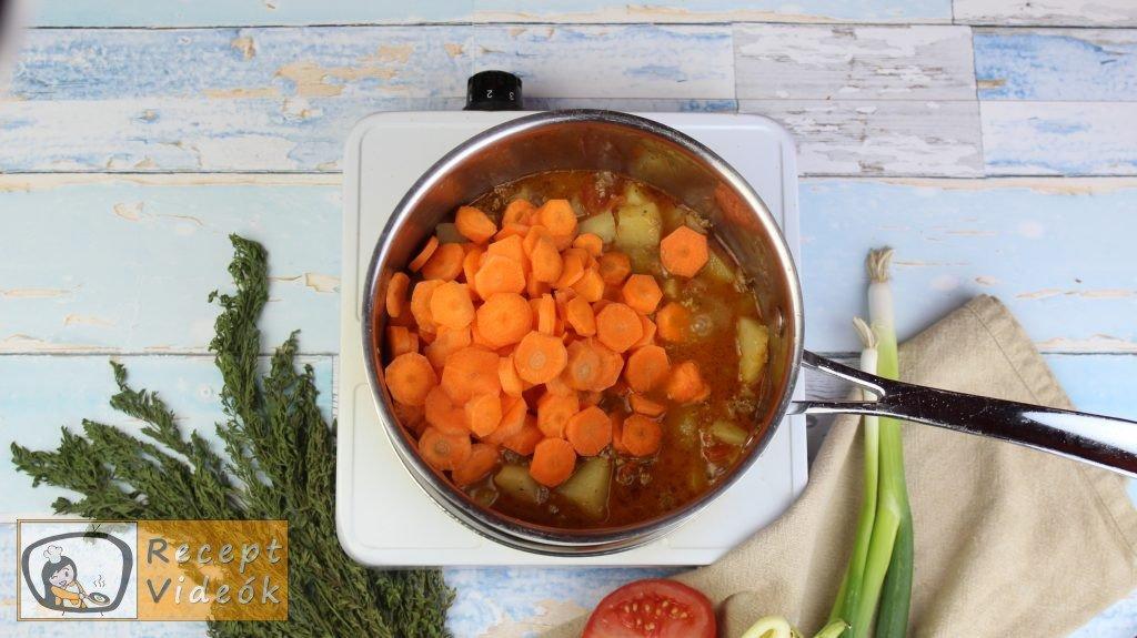 Pulykaragu recept, pulykaragu elkészítése 5. lépés