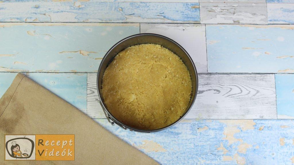 Sajttorta recept, sajttorta elkészítése 2. lépés
