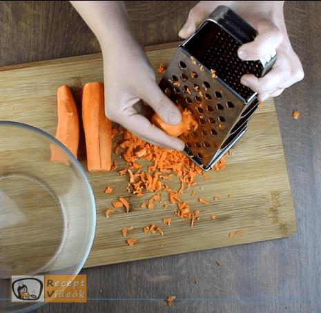 édes sárgarépasaláta recept elkészítése 1. lépés