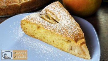 almatorta recept, almatorta készítése - Recept Videók