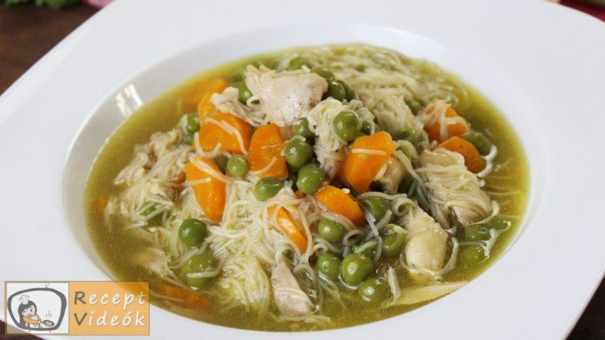 csirkeleves recept, csirkeleves elkészítése - Recept Videók