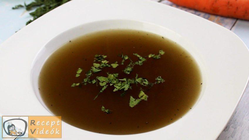 zöldségleves recept, zöldségleves elkészítése - Recept Videók