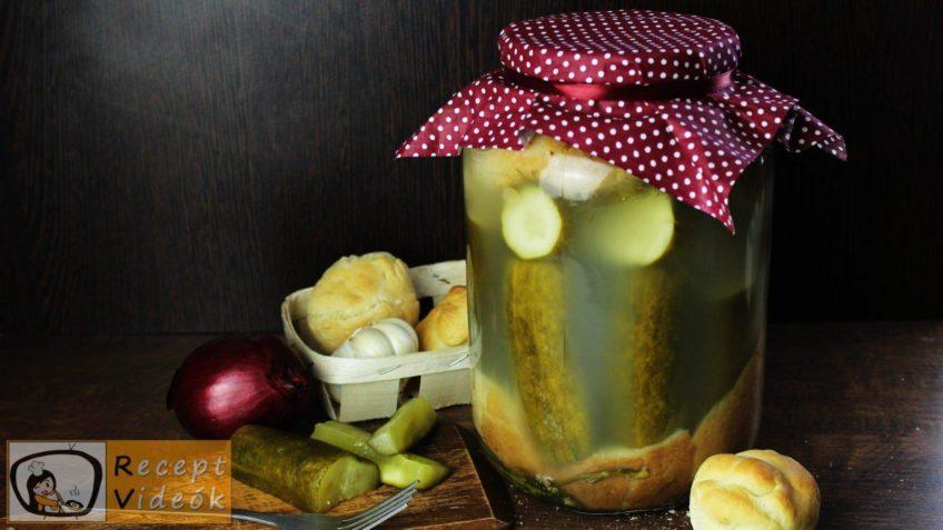 kovászos uborka recept, kovászos uborka elkészítése - Recept Videók