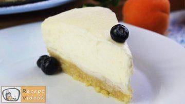 Sajttorta recept, sajttorta elkészítése - Recept Videóval