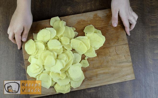 burgonya gratin recept, burgonya gratin elkészítése 1. lépés