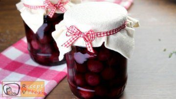 cseresznyebefőtt recept, cseresznyebefőtt elkészítése - Recept Videók