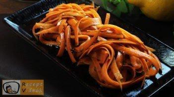 sárgarépasaláta recept, sárgarépasaláta készítése - Recept Videók