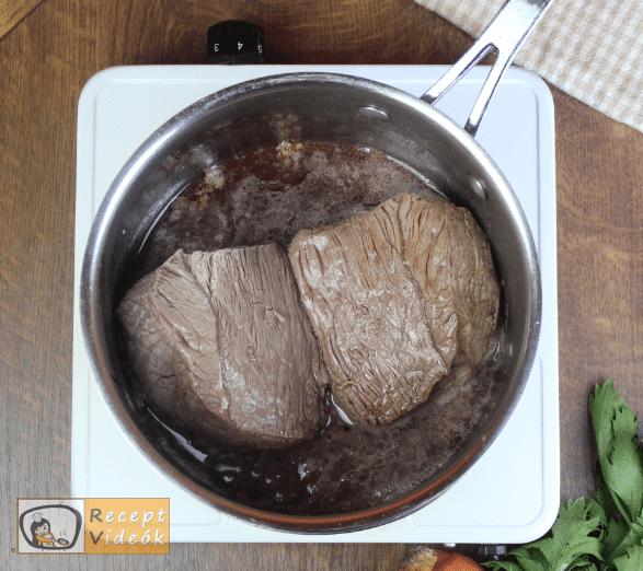 Sült marhahús recept, sült marhahús elkészítése 2. lépés