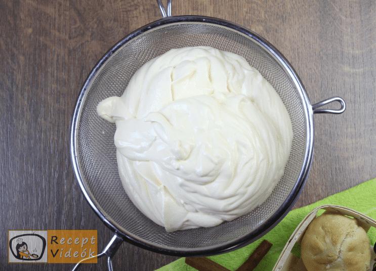 Krém brülé recept, krém brülé elkészítése 2. lépés