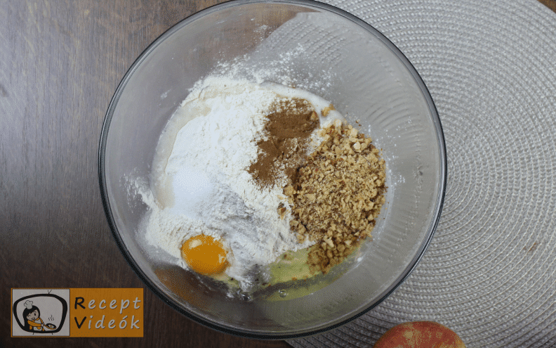 Linzertorta recept, linzertorta elkészítése 2. lépés