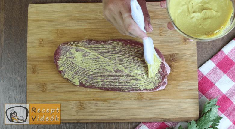 Marharolád recept, marharolád elkészítése 2. lépés
