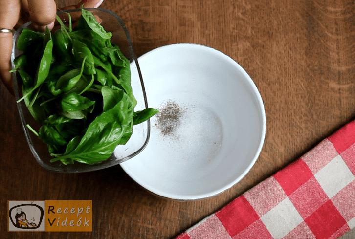 Spárgasaláta recept, spárgasaláta elkészítése 2. lépés