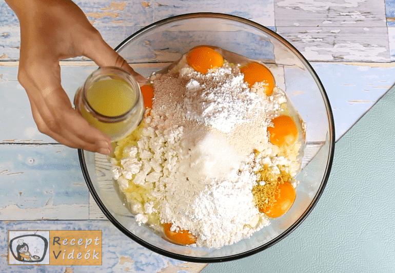 Túrós süti recept, túrós süti elkészítése 2. lépés