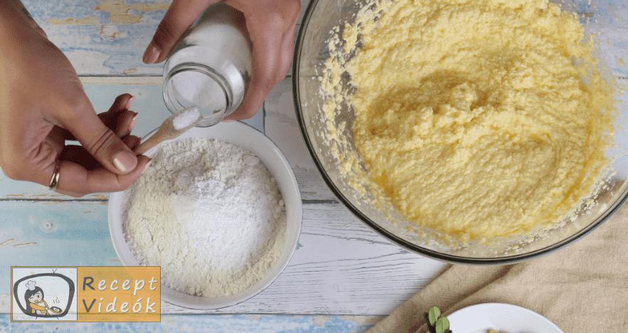 Mogyorós süti recept, mogyorós süti elkészítése 3. lépés