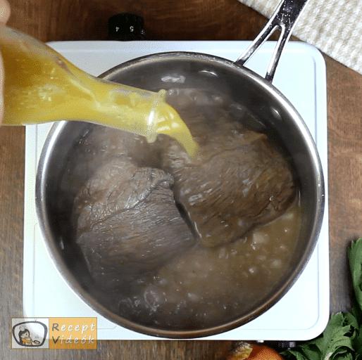 Sült marhahús recept, sült marhahús elkészítése 4. lépés