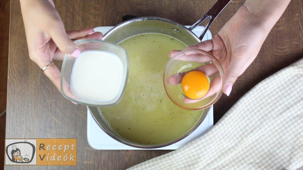 Spárgakrémleves recept, spárgakrémleves elkészítése 4. lépés