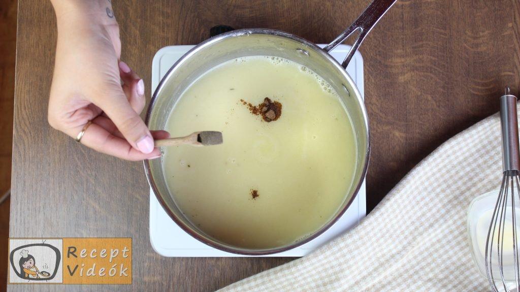Spárgakrémleves recept, spárgakrémleves elkészítése 5. lépés