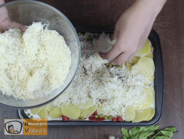 Krumplifelfújt recept, krumplifelfújt elkészítése 5. lépés
