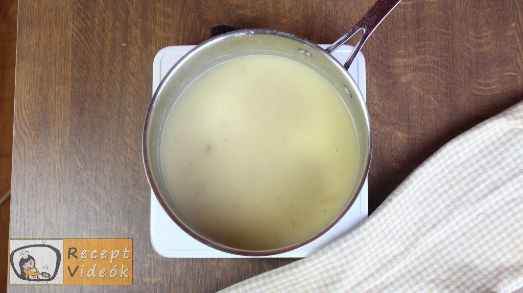 Spárgakrémleves recept, spárgakrémleves elkészítése 6. lépés
