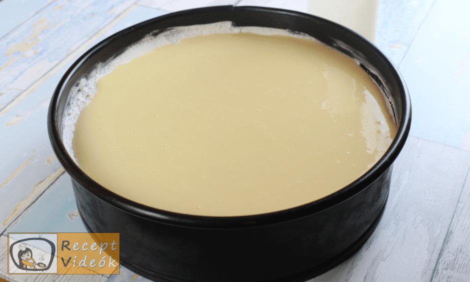 Tojáslikőr torta recept, tojáslikőr torta elkészítése 7. lépés