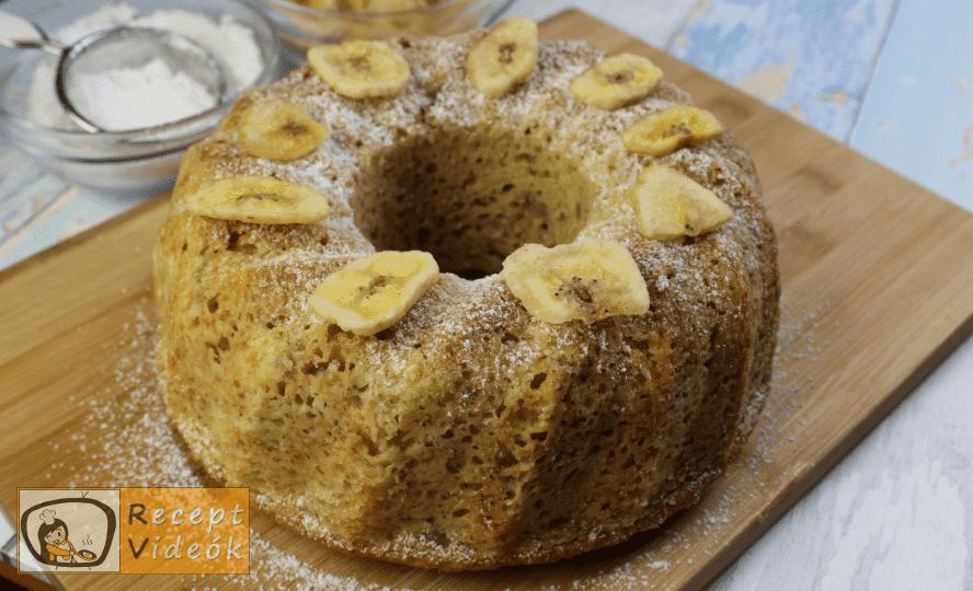 Banános kuglóf recept, banános kuglóf elkészítése 6. lépés