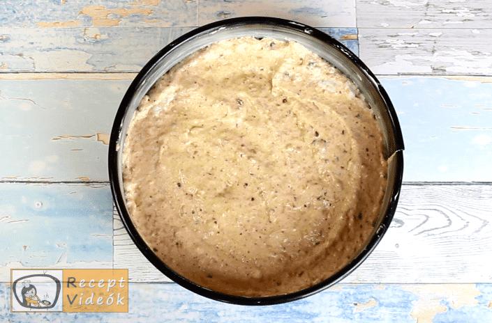 Tojáslikőr torta recept, tojáslikőr torta elkészítése 5. lépés