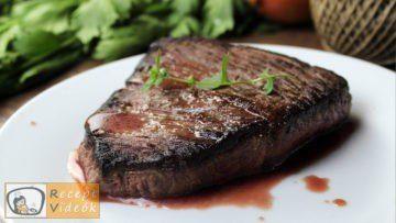 Marha steak recept, marha steak elkészítése - Recept Videók