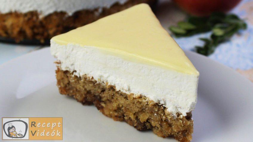 Tojáslikőr torta recept, tojáslikőr torta elkészítése - Recept Videók