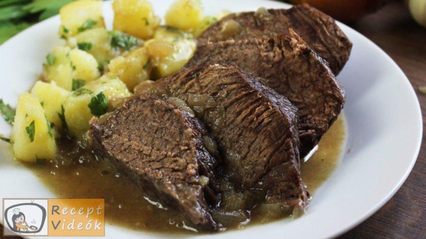 Sült marhahús recept, sült marhahús elkészítése - Recept Videók