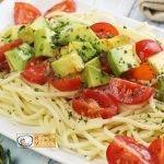 Avokádós-paradicsomos tészta recept, tészta elkészítése - Recept Videók