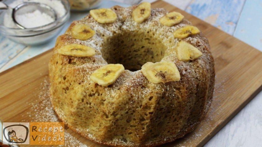 Banános kuglóf recept, banános kuglóf elkészítése - Recept Videók