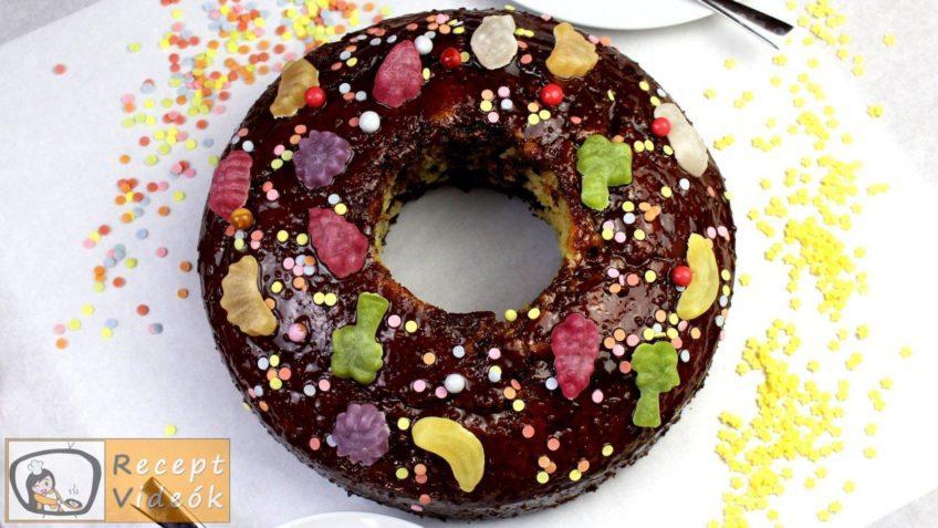 Szülinapi torta recept, szülinapi torta elkészítése - Recept Videók