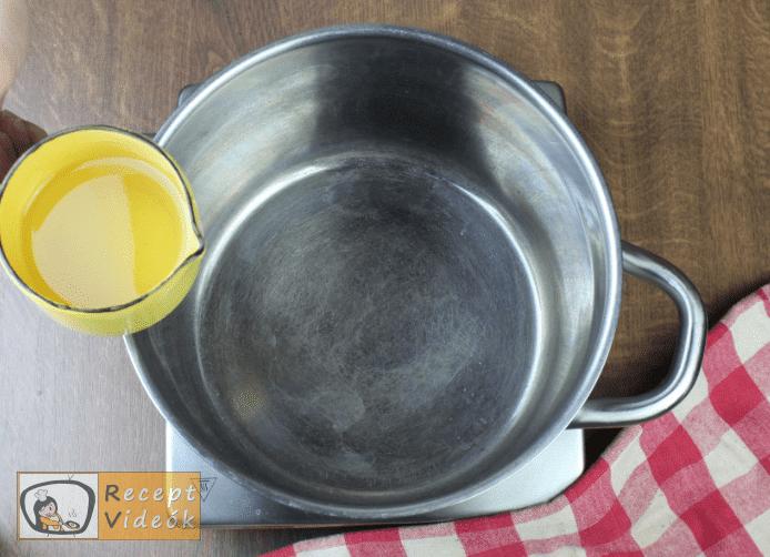Lecsó télire recept, lecsó télire elkészítése 1. lépés