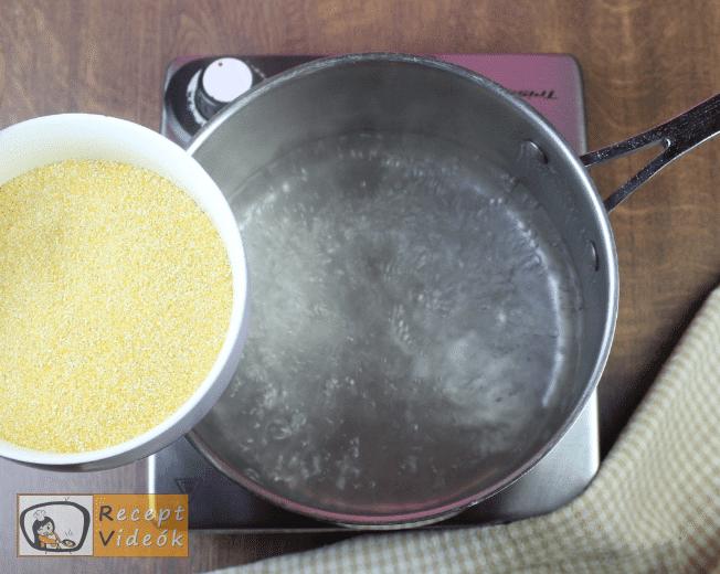 Kukoricakása recept, kukoricakása elkészítése 1. lépés