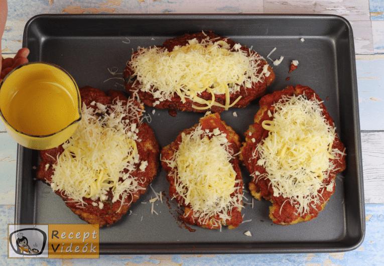 Parmezános csirke recept, parmezános csirke elkészítése 4. lépés