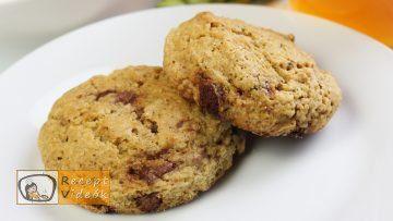 Amerikai csokis keksz recept, csokis keksz elkészítése - Recept Videók