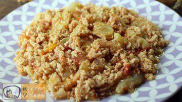 Tojásos lecsó recept, tojásos lecsó elkészítése - Recept Videók