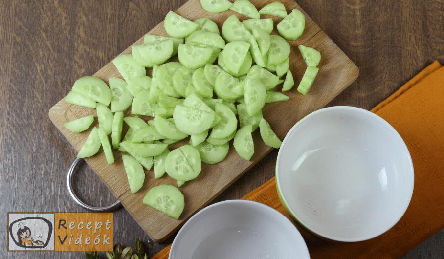 Görög saláta recept, görög saláta elkészítése 1. lépés