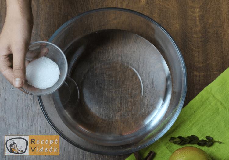 Almabefőtt recept, almabefőtt elkészítése 1. lépés