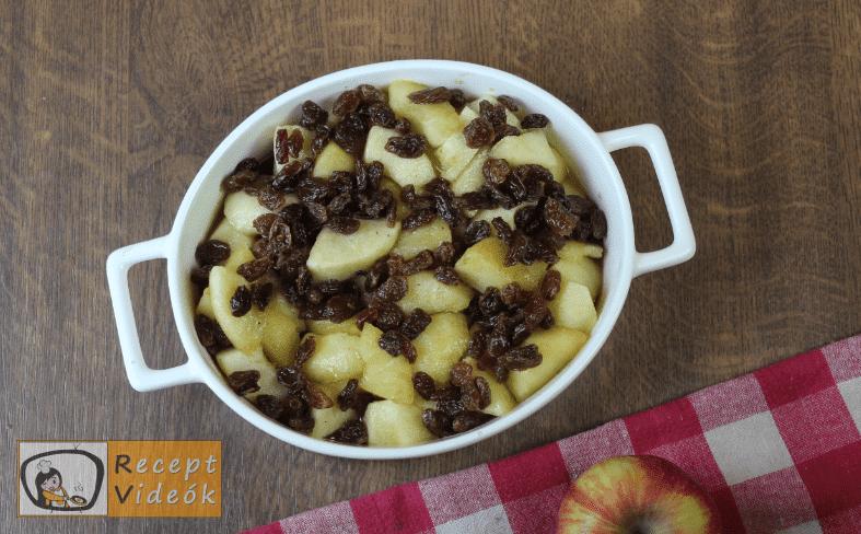 Almás crumble recept, almás crumble elkészítése 3. lépés