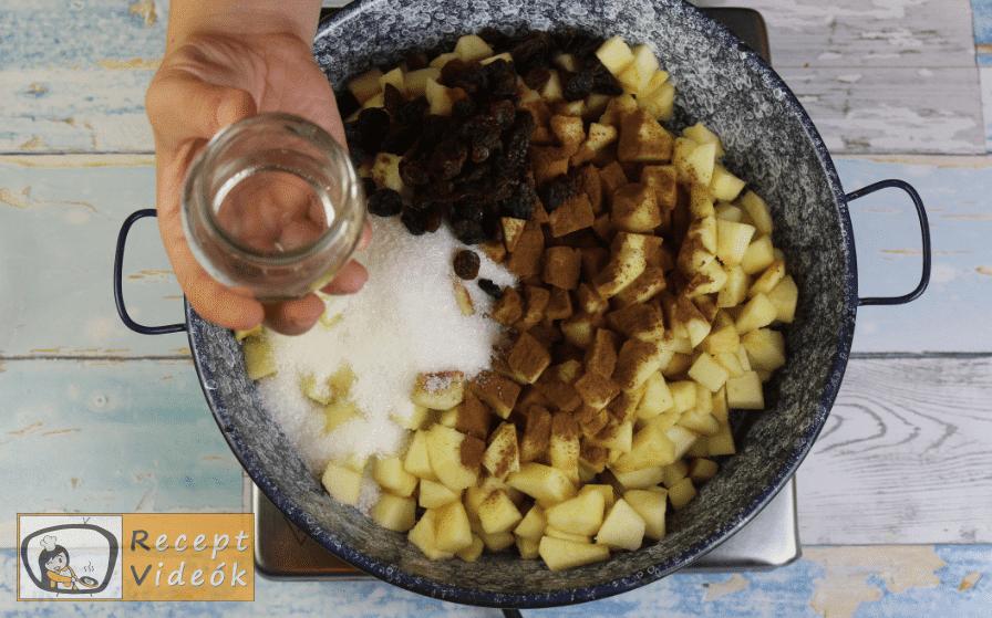 fedett almás pite recept, fedett almás pite elkészítése 2. lépés