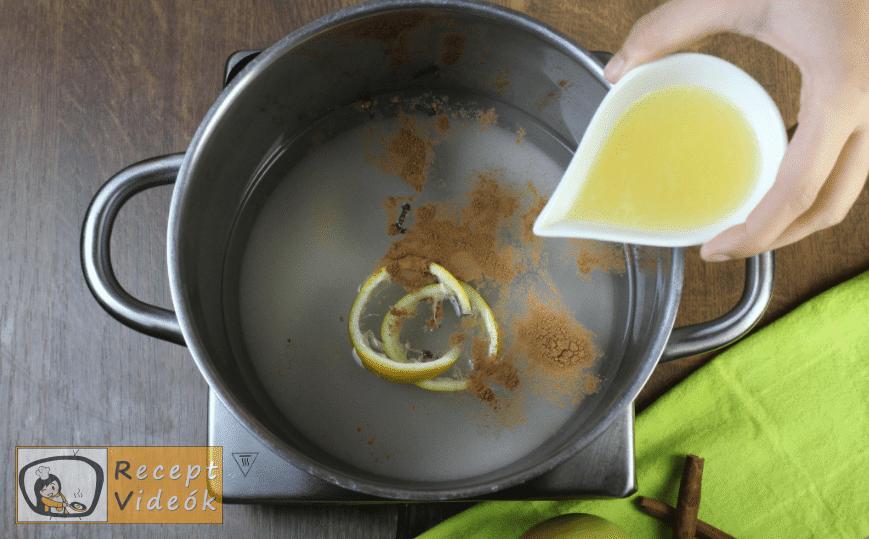 Almabefőtt recept, almabefőtt elkészítése 2. lépés