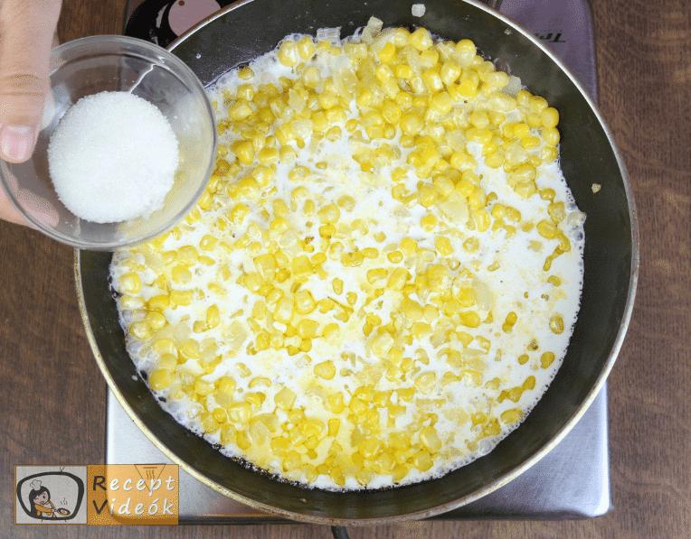 Krémes kukorica recept, krémes kukorica elkészítése 3. lépés