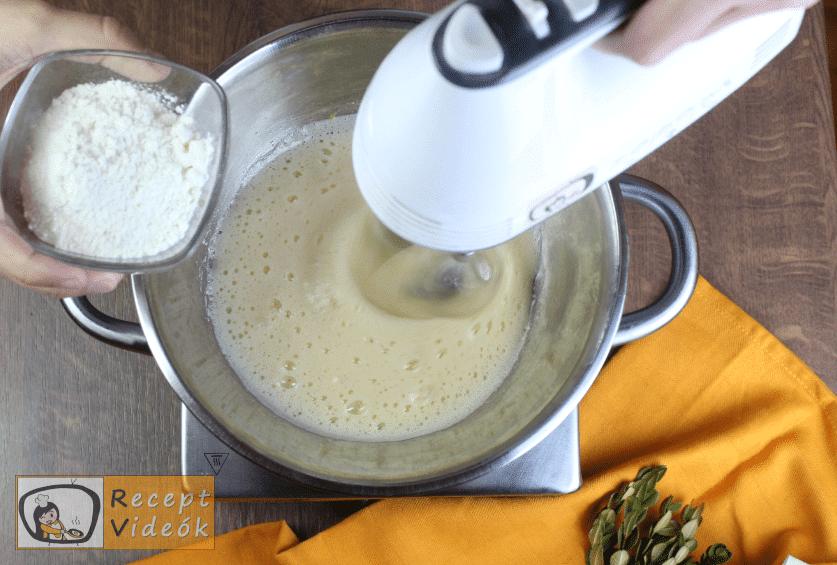 Piskótatallér recept, piskótatallér recept elkészítése 3. lépés