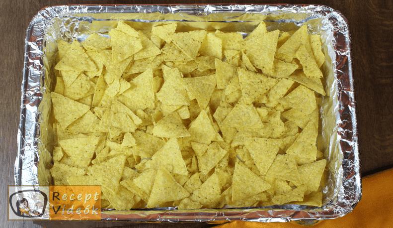 Marhahúsos nachos recept, marhahúsos nachos elkészítése 3. lépés