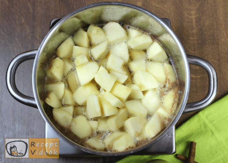 Almabefőtt recept, almabefőtt elkészítése 3. lépés