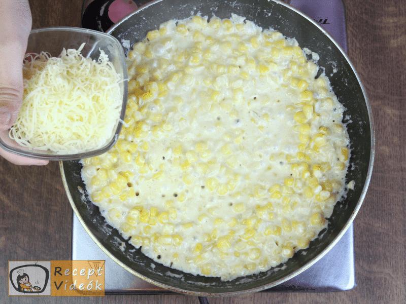Krémes kukorica recept, krémes kukorica elkészítése 4. lépés