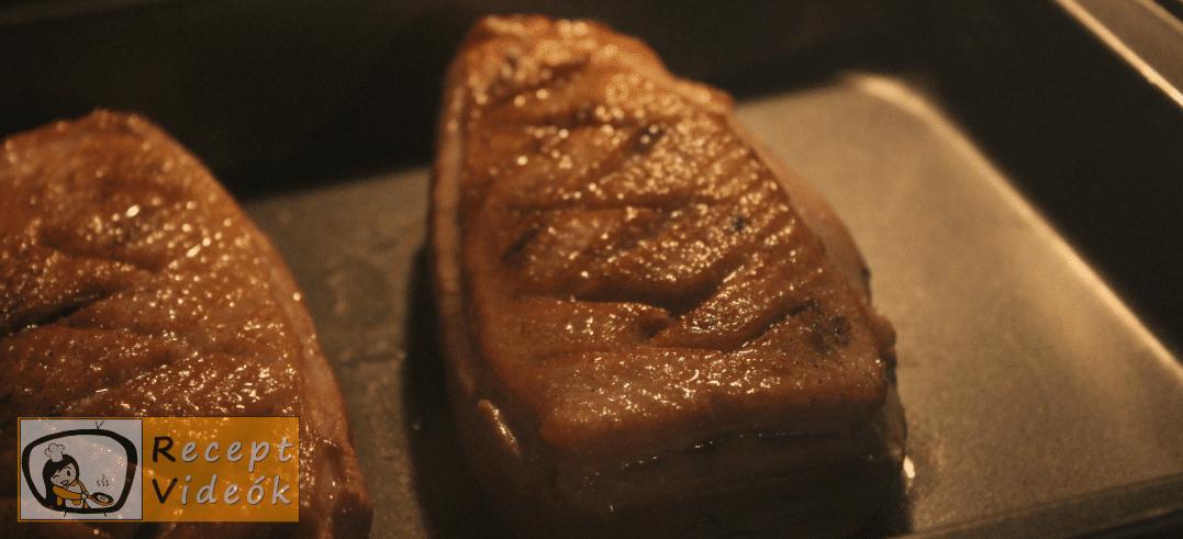 sült kacsamell recept, sült kacsamell elkészítése 5. lépés