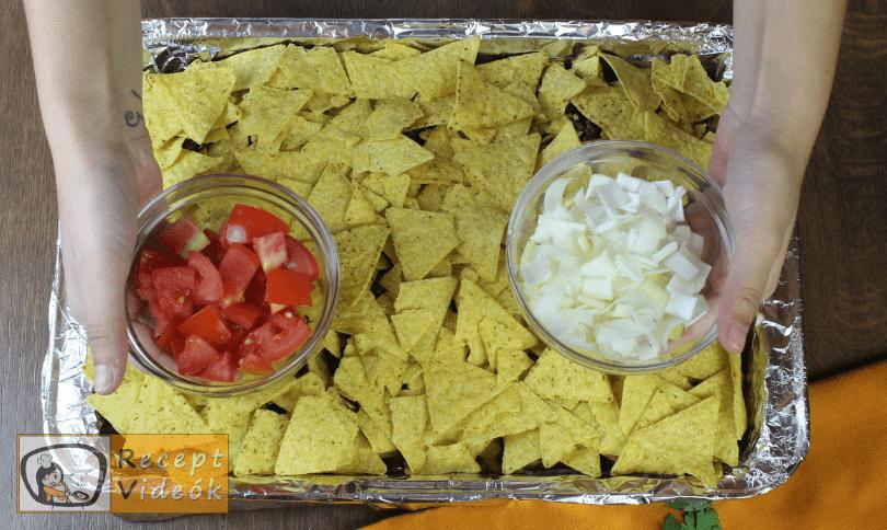 Marhahúsos nachos recept, marhahúsos nachos elkészítése 5. lépés